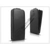 Haffner Slim Flexi Flip bőrtok - Samsung i9500 Galaxy S4 - fekete