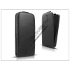 Haffner Slim Flexi Flip bőrtok - Sony Xperia M (C1904/C1905) - fekete