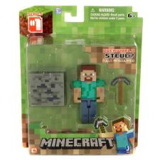 Minecraft - Steve figura kiegészítőkkel akciófigura