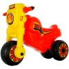 Műanyag Cross kismotor - piros-sárga