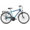 28″-os kerékpár, 21 sebességes, 56-os, kék (Carratt Dened)