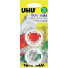 UHU film, feliratozható (H x Sz) 7.5 m x 19 mm UHU Tartalom: 2 tekercs