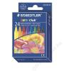STAEDTLER Zsírkréta, STAEDTLER Noris Club, 24 különböző szín (TS220NC24)