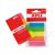 APLI Jelölőcímke, műanyag, 5x25 lap, 12x45 mm, APLI, 5 szín (LCA11912)