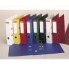 ESSELTE Iratrendező, 75 mm, A4, PP/PP, élvédő sínnel, ESSELTE Standard, piros (E811330)