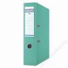 DONAU Iratrendező, 75 mm, A4, PP, élvédő sínnel, DONAU Premium, türkiz (D3975T)