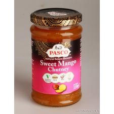 Mango Chutney, (csatni), édes konzerv