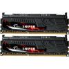 G.Skill F3-17000CL9D-8GBSR Sniper SR DDR3 RAM 8GB (2x4GB) Dual 2133Mhz CL9