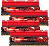 G.Skill F3-1600C7Q-32GTX TridentX TX DDR3 RAM 32GB (4x8GB) Quad 1600Mhz CL7 memória (ram)