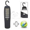 Stekklámpa 24 LED-del foszforeszkáló betéttel 18620ph