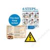 Xerox Etikett, lézernyomtatókhoz, A4, műanyag, kültéri, XEROX Nevertear, átlátszó, 50 etikett/csomag (LX90523)