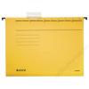 Leitz Függőmappa, karton, A4, LEITZ, Alpha Standard, sárga (E19850015)