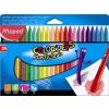 MAPED Zsírkréta, MAPED Color`Peps, 24 különböző szín (IMA862013)