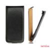 CELLECT HTC One Max Flip bőr tok, Fekete