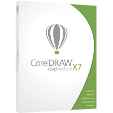 COREL DRAW Graphics Suite X7 DVD Box EN Upgrade multimédiás program
