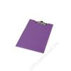 PANTA PLAST Felírótábla, fedeles, A4, sarokzsebbel, PANTAPLAST, pasztell lila (INP314330PL)