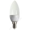 LED LED izzó, gyertya, E14-es foglalat, 320lm, 4W, 2700K, meleg fehér, ACME (ALED02)