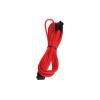 Bitfenix 8-Pin PCIe hosszabbító 45cm - sleeved piros/fekete