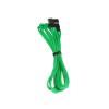 Bitfenix 3-Pin hosszabbító 60cm - sleeved zöld/fekete