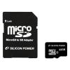 Silicon Power Card MICRO SDHC Silicon Power 32GB 1 Adapter CL4