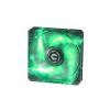 Bitfenix COOLER BITFENIX Spectre PRO LED Green 120mm (fekete)