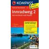 Innradweg 2, Von Innsbruck nach Passau kerékpártérkép - Kompass FTK 7015