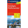 Ostallgäu - Pfaffenwinkel kerékpártérkép - Kompass FK 3124
