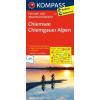Chiemsee - Chiemgauer Alpen kerékpártérkép - Kompass FK 3121