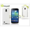 Muvit Samsung i9295 Galaxy S4 Active hátlap - Muvit miniGel - white