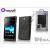 Made for Xperia MUVIT Sony Xperia E (C1505) hátlap - Made for Xperia Muvit miniGel - black