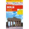 Berlin vízhatlan várostérkép tömegközlekedéssel - Marco Polo