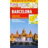 Barcelona vízhatlan várostérkép tömegközlekedéssel - Marco Polo