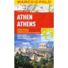Athén vízhatlan várostérkép tömegközlekedéssel - Marco Polo