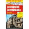 Luxemburg vízhatlan várostérkép tömegközlekedéssel - Marco Polo