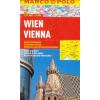 Bécs vízhatlan várostérkép tömegközlekedéssel - Marco Polo