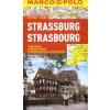 Strassburg vízhatlan várostérkép tömegközlekedéssel - Marco Polo
