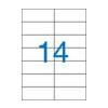 VICTORIA uni. 105x42,4mm 1400db/cs | Általános etikettek