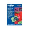 Brother PHOTO PAPER BROTHER BP71GA3 A3 fényes fotópapír (20 lap)