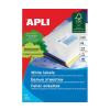 APLI APLI uni. 38x21,2mm 1625db/cs | Általános etikettek