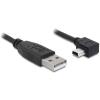 DELOCK Cable USB 2.0-A male -> USB mini-B 5pin male angled 5m (82684)