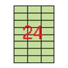 APLI APLI 70x37mm színes pasztell zöld 480db/cs   Színes etikettek