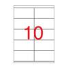 APLI APLI uni. 105x57mm 1000db/cs | Általános etikettek