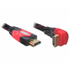 DELOCK Cable High Speed HDMI with Ethernet angled A-A / male-male 2m