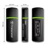 Transcend USB Card Reader SDHC/MMC/microSDHC/M2 fekete kártyaolvasó