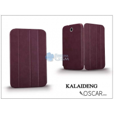 Kalaideng Samsung N5100 Galaxy Note 8.0 tok (Book Case) - Kalaideng Oscar Series - dark red tok és táska