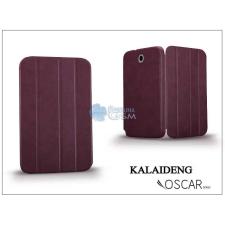 Kalaideng Samsung N5100 Galaxy Note 8.0 tok (Book Case) - Kalaideng Oscar Series - dark red tok és táska