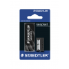 STAEDTLER Radír rasoplast B20+ 1 lyukú hegyező-5269-S1BK-BLACKEDITION STAEDLER