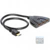 DELOCK 3 portos HDMI switch kétirányú