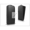 Haffner Slim Flexi Flip bőrtok - Samsung i8580 Galaxy Core Advance - fekete