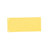 ESSELTE Elválasztócsík, karton, ESSELTE, sárga (100 db)